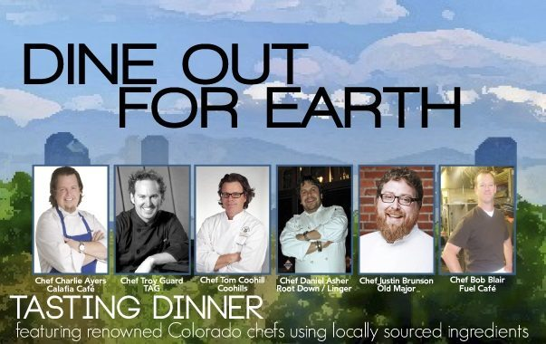 Dine Out for Earth 2014
