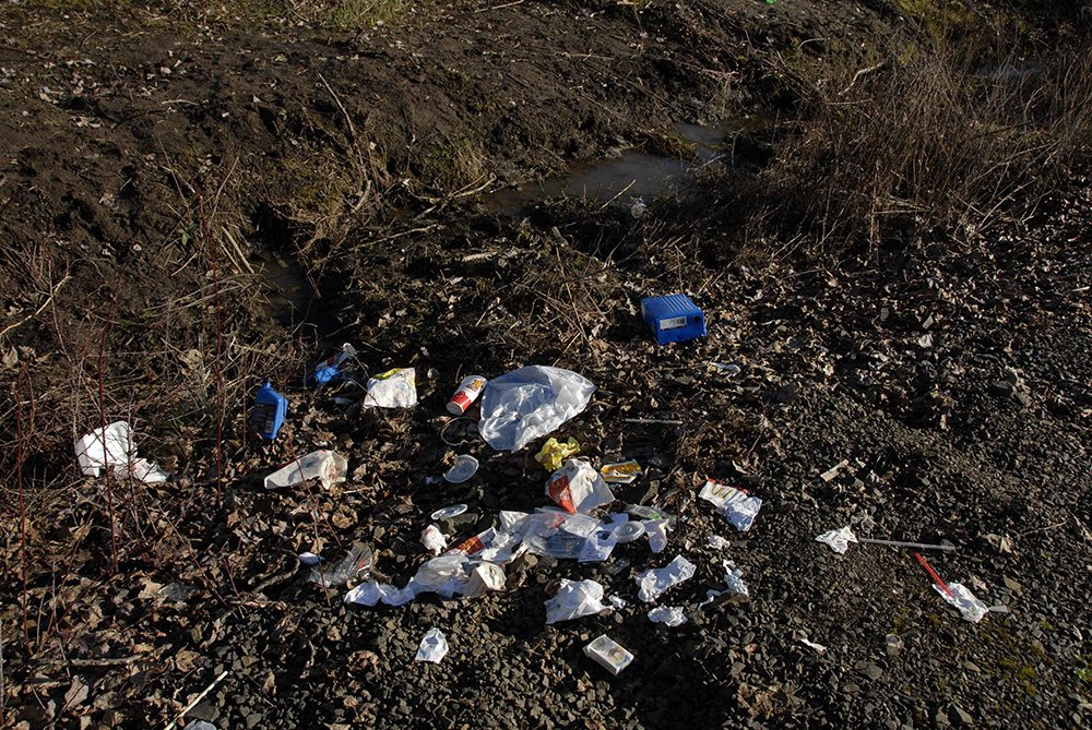 close-up-image-displaying-trash-scattered-by-the-road-side